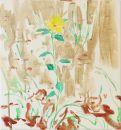 Gelbe Blüte am Wegrand I
