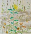 Gelbe Blüte am Wegrand II